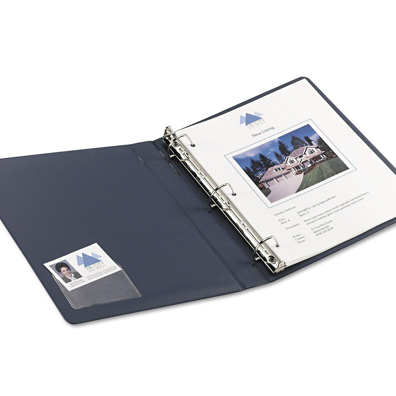 Amazon.com : Avery 73720 Self-Adhesive Business Card Holders, Top ...