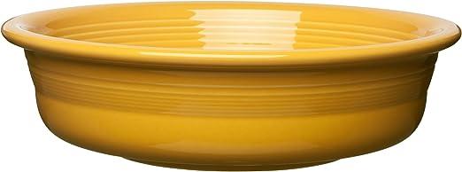 Fiestaware Poppy Hostess Bowl Fiesta Orange Pedestal Base Serving Bowl