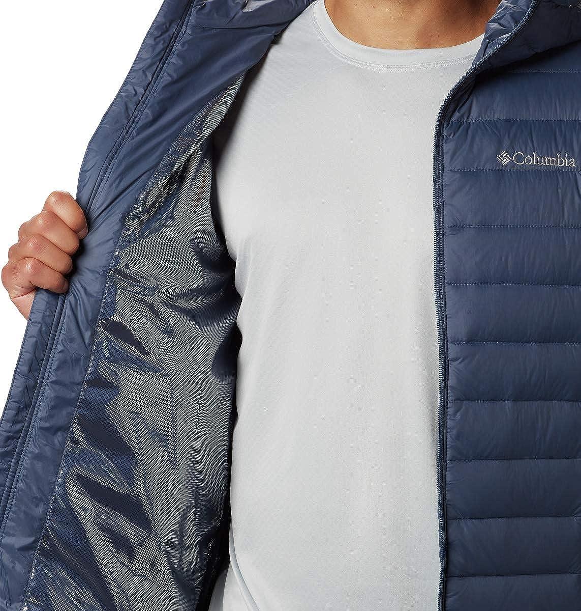 Columbia Men's Voodoo Falls 590 TurboDown Hooded Jacket: Clothing