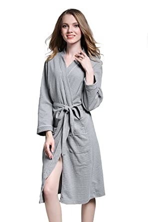 VERNASSA Women s Cotton Robe 67090259e