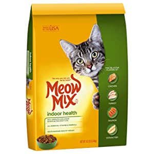 Meow Mix Dry Cat Food Indoor Health