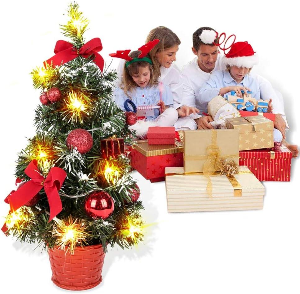 Forart Christmas Tree Ornaments, Desktop Christmas Tree, 15.7