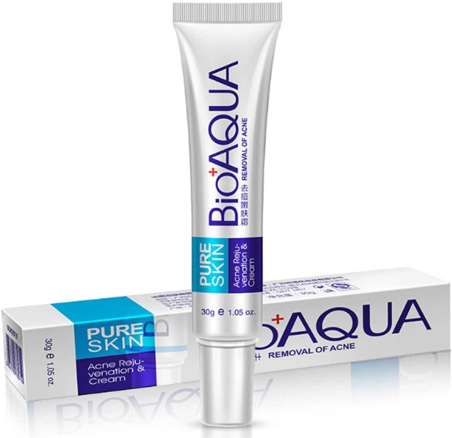 Amazon Com Bioaqua Face Skin Care Acne Anti Wrinkle Treatment Removal Cream Spots Scar Blemish Marks Everything Else