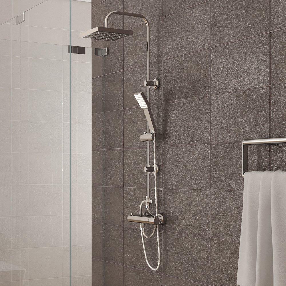 dusche thermostat armatur mz16 hitoiro. Black Bedroom Furniture Sets. Home Design Ideas