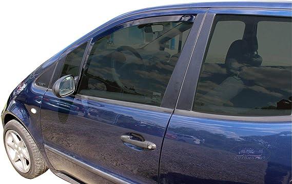 J/&J AUTOMOTIVE Windabweiser Regenabweiser f/ür Mercedes A-Klasse W176 5-t/ürer 2012-18 2tlg HEKO dunkel