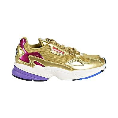 cc7720ec9ab41 Amazon.com  adidas Falcon Womens in Gold Metallic Off White