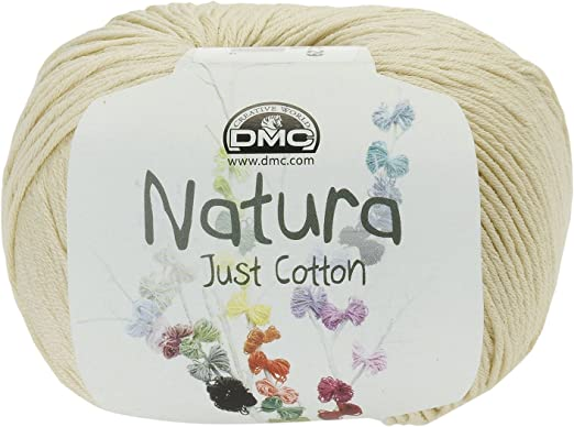 DMC Hilo Natura, 100 % algodón, Color Blanco Gardenia N36: Amazon ...