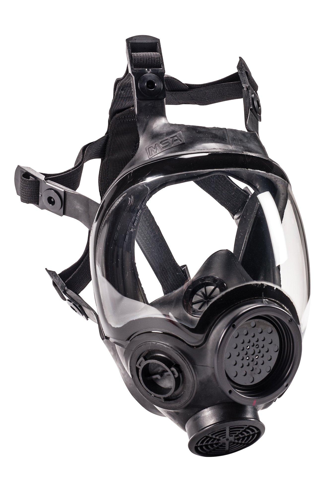 MSA Safety 805420 Hycar Rubber Advantage 1000 Full-Facepiece Respirator, Large