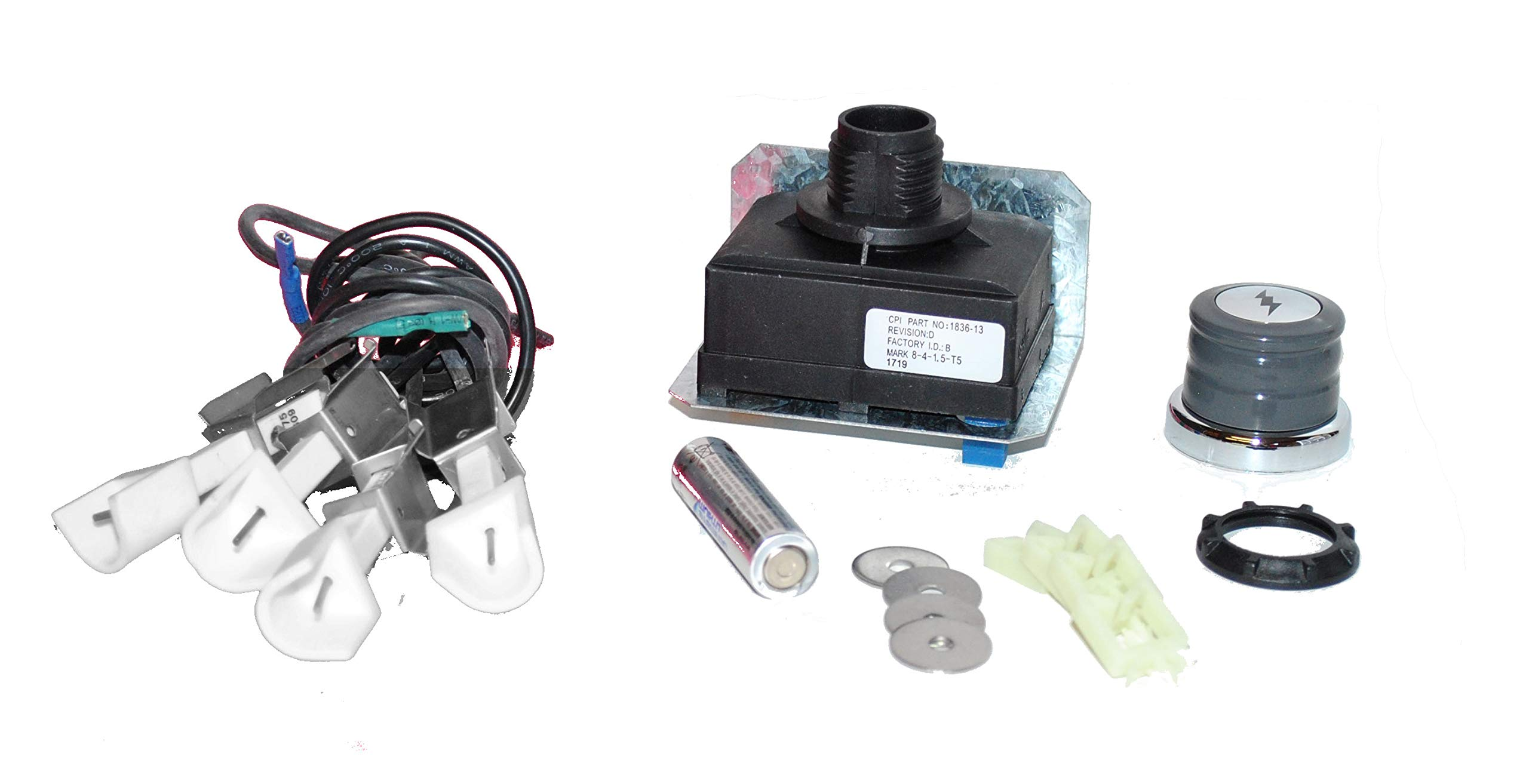 Weber 65946 Genesis 330 Igniter Kit 2011 & Newer, Front Mounted Control Panel by Weber (Image #1)