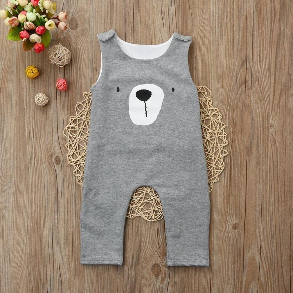 Memela Baby Organic Sleeveless Jumpsuit Onesie Spring//Summer