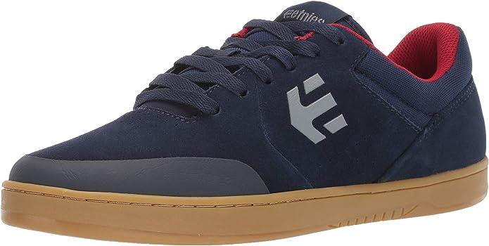 Etnies Marana Sneakers Skateboardschuhe Damen Herren Unisex Marineblau/Rot/Gummi