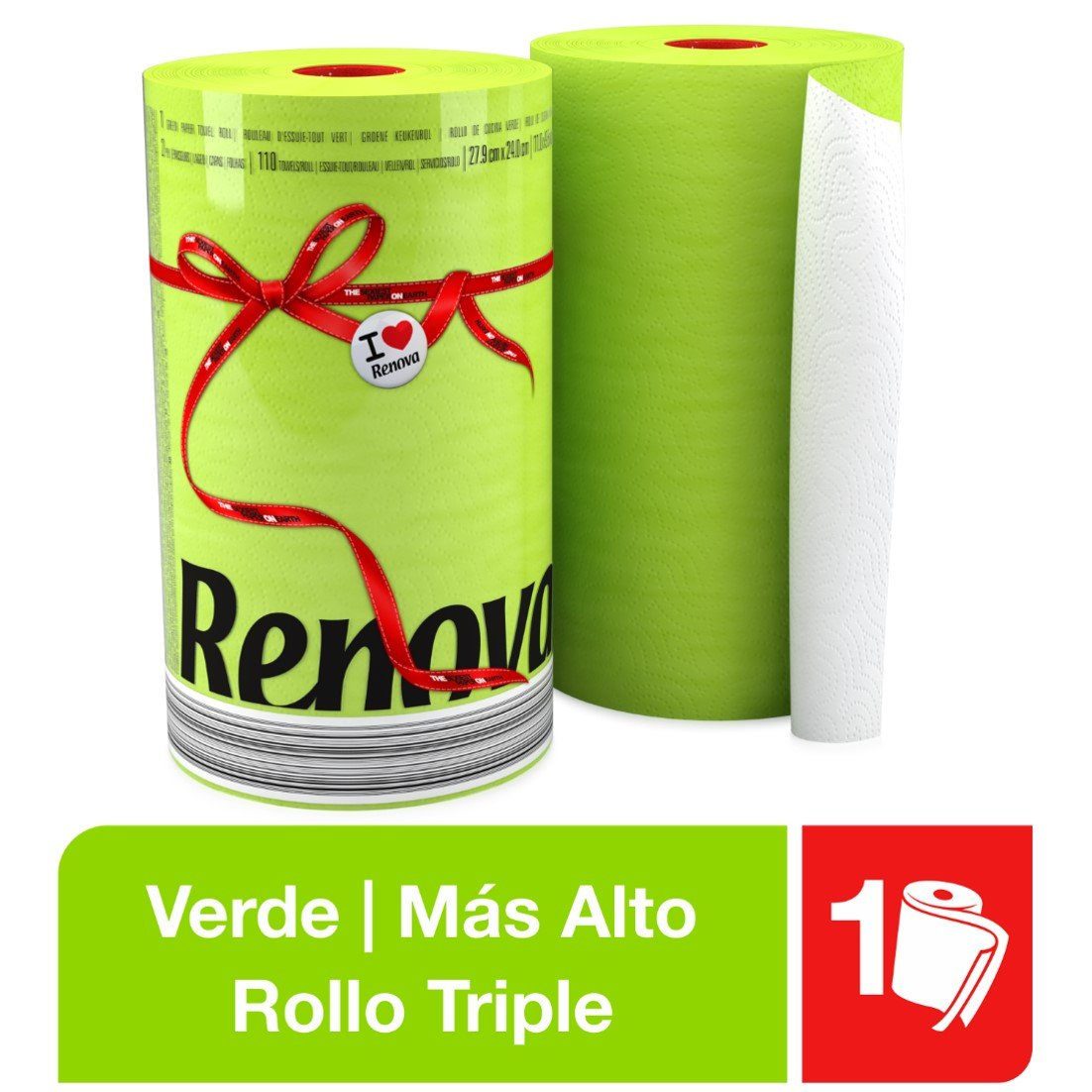 Renova Red Label Kitchen Paper Green