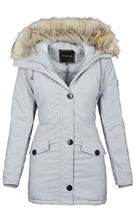 Golden Brands Selection Designer Damen warme Winterjacke Winter Parka Jacke  Winddicht B513  Amazon.de  Bekleidung f9b6056a28