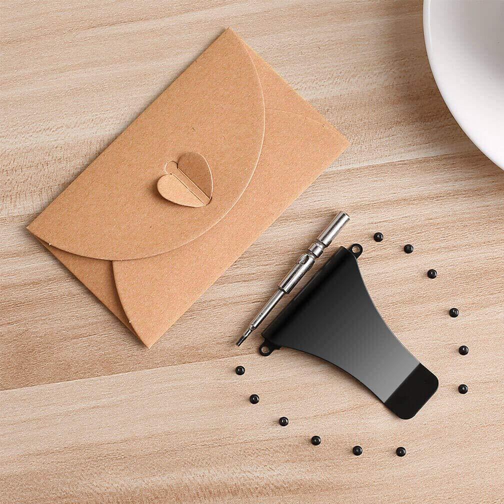 Wallet Replacement Screws Screwdriver Metal Clip for RFID Metal Wallet Repair Kit
