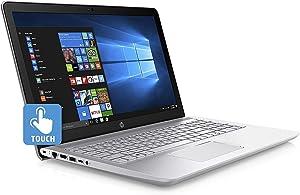HP15.6'' Pavilion HD Touchscreen Laptop Computer - Intel Core i7-7500U, 16GB DDR4, 512GB SSD + 1TB HDD, DVD RW, HDMI, Webcam, Bluetooth, Windows 10