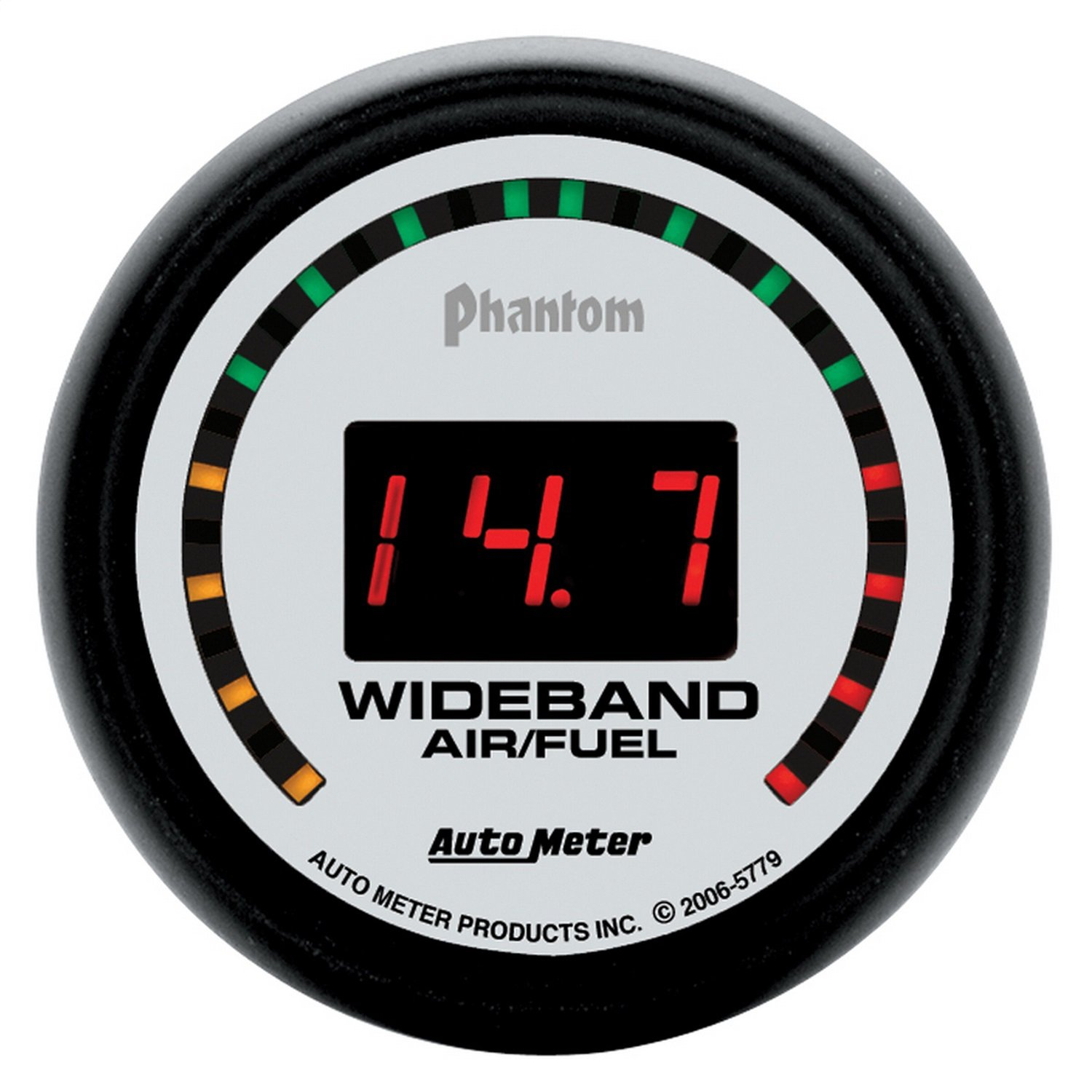 Auto Meter 5779 Phantom 2-1/16' Wideband Air/Fuel Ratio Street Gauge