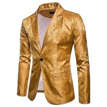 LuckyGirls Abrigos de Traje Un Botón Chaqueta de Vestir Slim Fit Negocio Blazers: Amazon.es: Deportes y aire libre