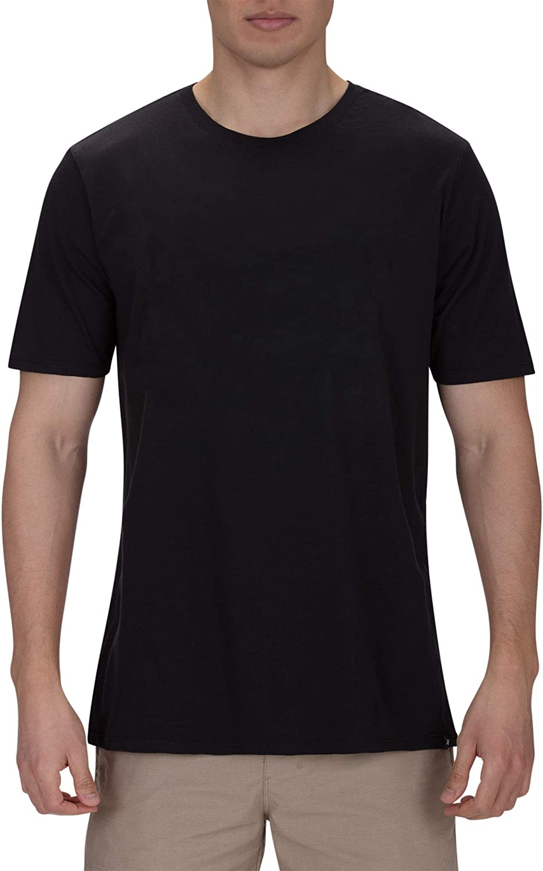 Hurley Men's Premium Cotton Staple Short Sleeve Tee Shirt: Clothing