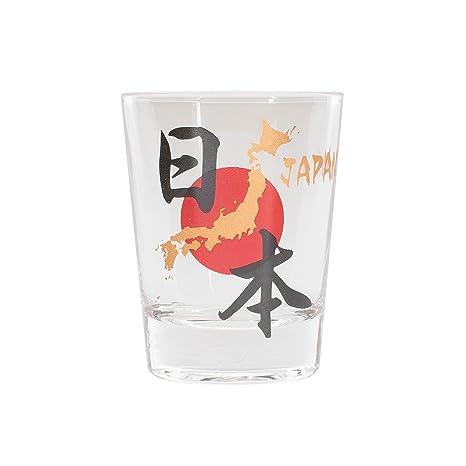 Amazon.com: Japón Cool Shot Glass, Japan: Kitchen & Dining
