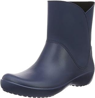 crocs Damen Rainfloetallbt Gummistiefel: : Schuhe