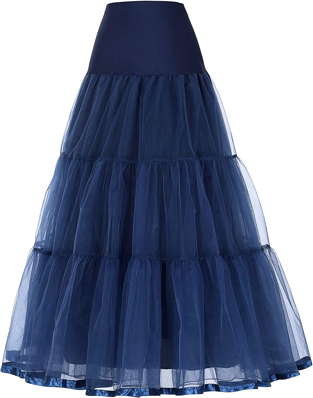 bridesmay 1950 Reifrock Petticoat Halloween Unterrock Crinoline Rockabilly Kleid