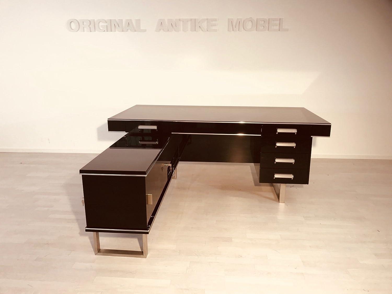 OAM Bauhaus - Escritorio de Alta Calidad, Color Negro Brillante ...