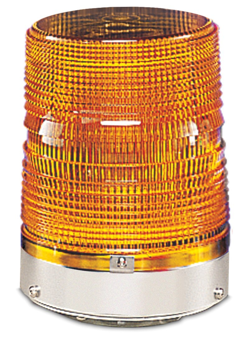 Federal Signal 131DST-120A Starfire Strobe Warning Light, Double Flash, 1/2 NPT Pipe Mount, 120 VAC, Amber by Federal Signal  B000LF0GZS