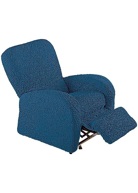 Funda para sillones de tela viscoelástica con acabado rizado ...