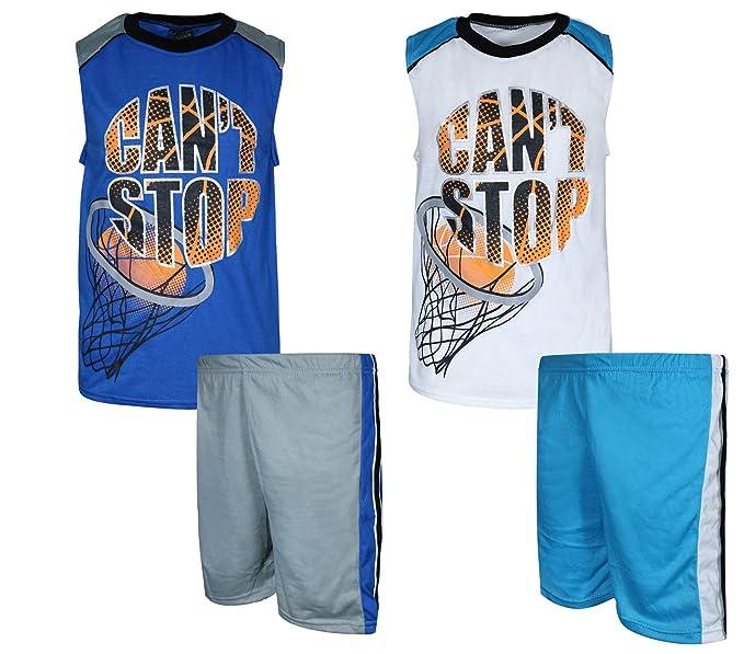 Amazon.com: Quad Seven - Pijama de verano para niños (4 ...