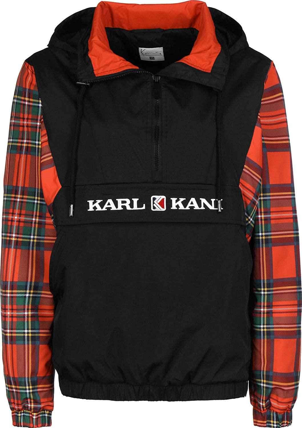 Karl Kani Check Windbreaker Ladies Jacket