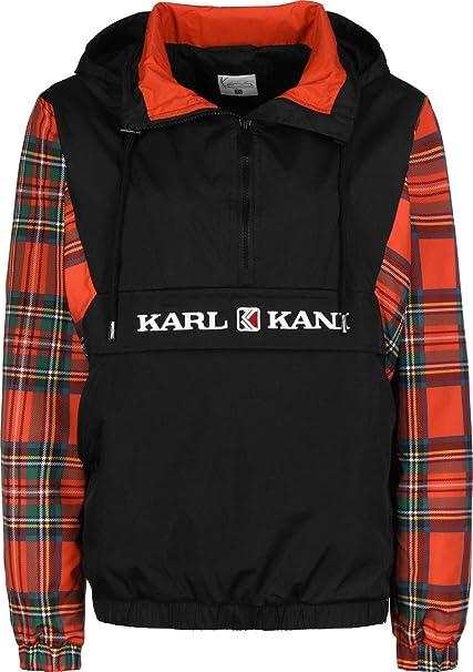 Karl Kani Check W Chaqueta Cortavientos: Amazon.es: Ropa y ...