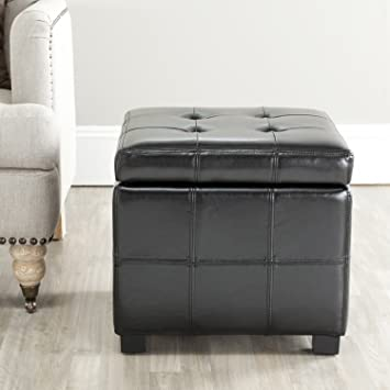 Phenomenal Amazon Com Safavieh Hudson Collection Noho Tufted Black Ncnpc Chair Design For Home Ncnpcorg