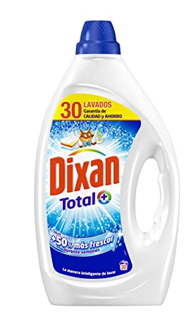 Dixan Detergente Líquido Total - 30 Lavados (1.5 L)