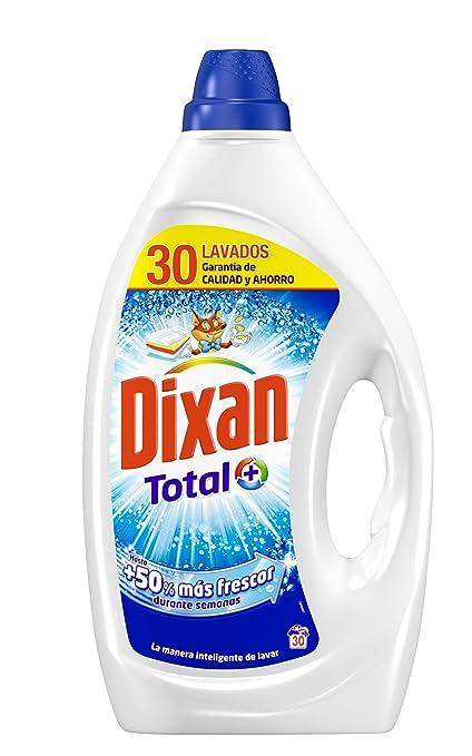 Dixan Detergente Líquido Total - 30 Lavados (1.5 L): Amazon.es