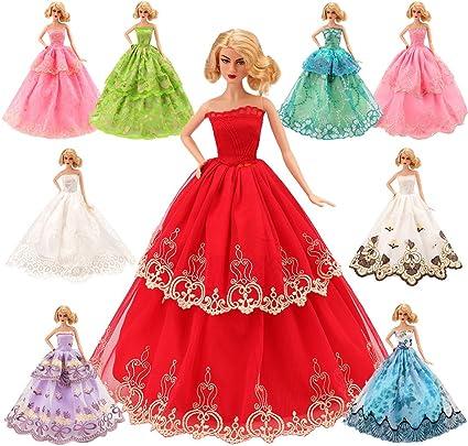 Blue Strapless Dress//Skirt American Model 22 in Doll