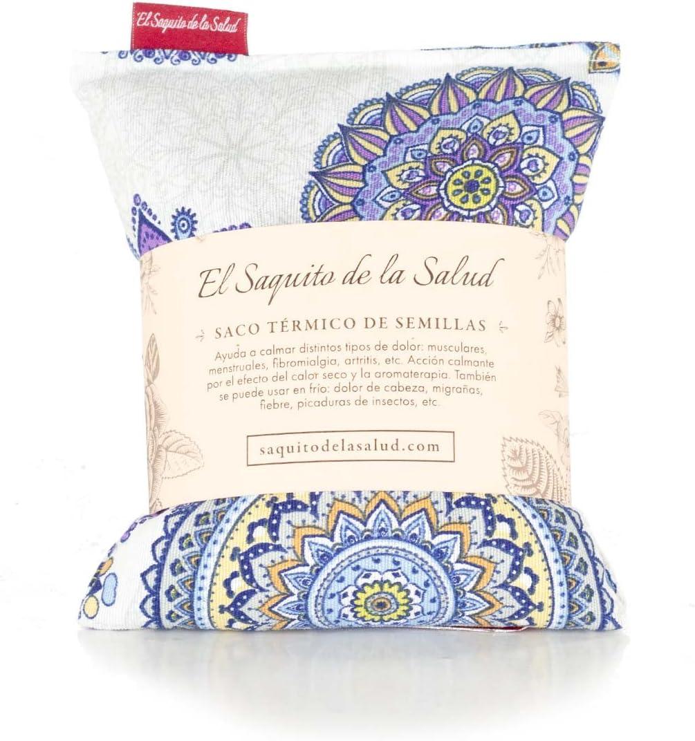 Saco Térmico de Semillas Aroma Lavanda, Azahar o Romero Tejido ...