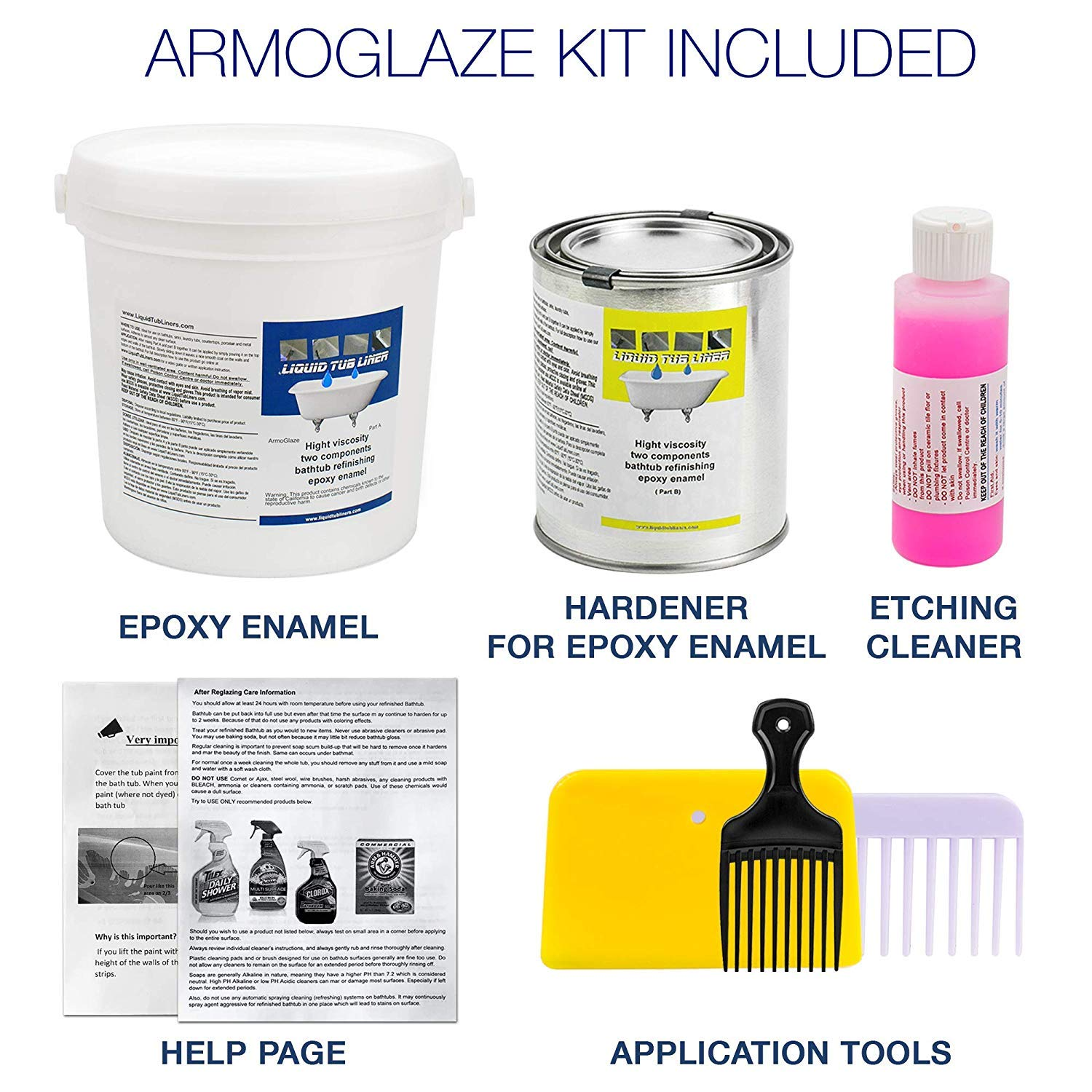 4. ArmoGlaze Bathtub Refinishing Kit