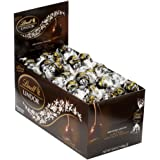 Lindt LINDOR 60% Extra Dark Chocolate Truffles, 120 Count