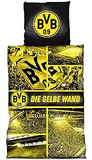 Borussia Dortmund Bvb Bettwasche Punkteverlauf 135 X 200 Cm One