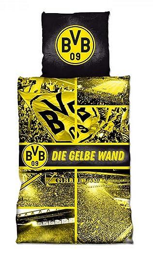 Borussia Dortmund Bvb Bettwäschebiber Bettwäsche Gelbe Wand