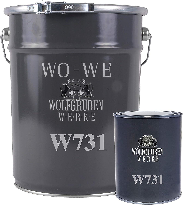 2K Epoxidharz Steinteppich Porenf/üller Bodenbel/äge Steinboden Treppe W731 6KG