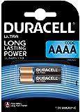 Pile alcaline Duracell spéciale AAAA 1,5V, pack de 2 (LR8D425), conçue pour une utilisation dans les stylos numériques, dispositifs médicaux et phares