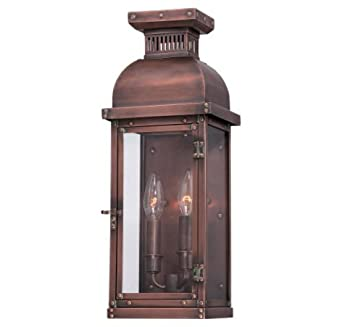 Minka great outdoors 9071 264 copperton two light outdoor pocket minka great outdoors 9071 264 copperton two light outdoor pocket lantern manhattan copper aloadofball Gallery
