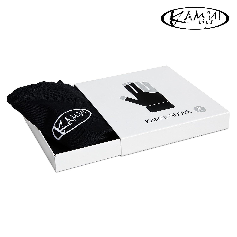 /F/ür die linke Hand/ /Medium/ New Kamui Billard Pool Glove/ /Blau