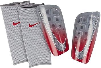 13bcf7b5856 Nike Mercurial Lite Protège-Tibias XL Wolf Grey Light Crimson Pure Platinum