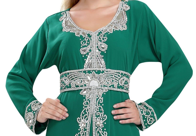 Arabian Traditional Thobe Caftan By Maxim Creation For Women 5847