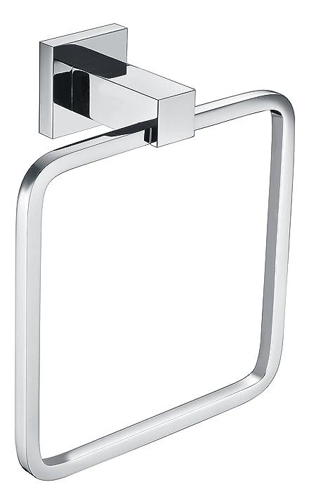 Amazon.com: Towel ring QAONO Towel ring Bathroom Accessories Brass ...