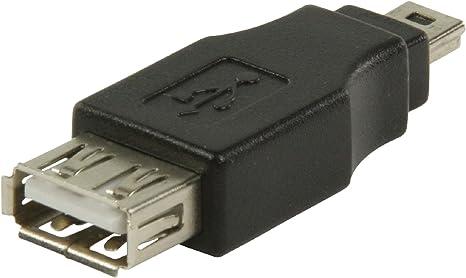 Adattatore USB A maschio a Mini B femmina