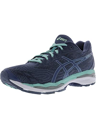 ASICS Womens Gel-Ziruss Smoke Blue/Smoke Blue/Opal Green 6.5