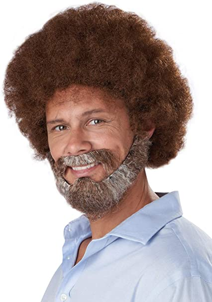California Costumes Joyful Painter Adult Wig Beard and Moustache